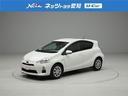 トヨタ/アクア S メモリーナビ フルセグ キーレス ETC DVD CD