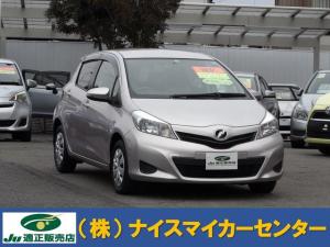 トヨタ ヴィッツ F スマートストップパッケージ SDナビ ワンセグTV