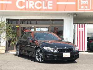 BMW 4シリーズ 420iグランクーペ Mスポーツ 赤革シート HDDナビ