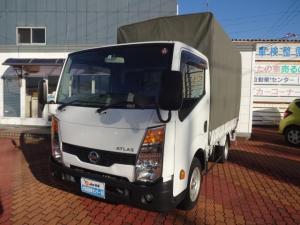 日産 アトラストラック ショートスーパーローDX 1.5t積 Wタイヤ 幌車