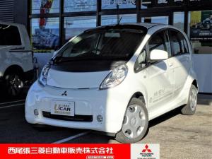 三菱 アイミーブ X 当社試乗車UP 社外ナビ ETC 急速充電 3年保証付