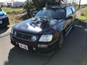 日産 ステージア 25RS FOUR 4WD 5MT 車高調 柿本マフラー