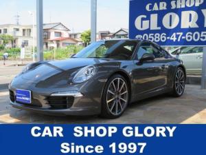 ポルシェ 911 911カレラS 正規ディーラ認定中古車 2オーナー スポーツエキゾースト 車庫保管 禁煙車 ベンチレーション PDK