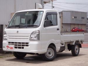 スズキ キャリイトラック KCエアコン・パワステ 5速MT 4WD 走行1.1万キロ