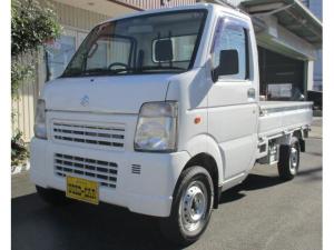 スズキ キャリイトラック KU エアコンパワステ 切り替え式4WD  ヘッドライトレベライザー 5MT 3方開