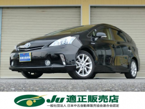 トヨタ プリウスアルファ Sツーリングセレクション HDDナビ フルセグ LEDヘッド