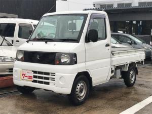 三菱 ミニキャブトラック 4WD AC 5マニュアル 軽トラック ホワイト エアコン