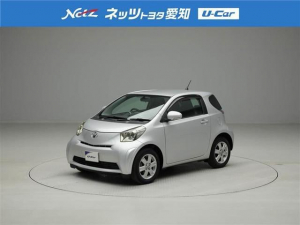トヨタ iQ 100G レザーパッケージ メモリーナビ ワンセグ ETC