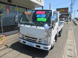 いすゞ エルフトラック フルフラットロー 社外ナビ&フルセグTV&バックカメラ付き