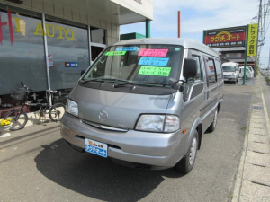 マツダ ボンゴバン GL ハイルーフ 5ドア 4WD 社外ナビ&フルセグTV&バックカメラ キーレス付き