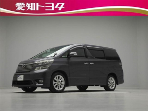 トヨタ ヴェルファイア 2.4Z プラチナムセレクション 4WD HDDナビ ETC