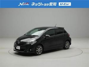 トヨタ ヴィッツ RS メモリーナビ スマートキ- フルセグ 純正アルミ CD