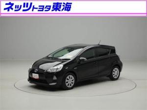 トヨタ アクア S メモリーナビ フルセグ スマートキ- ETC DVD