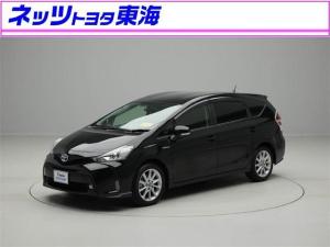 トヨタ プリウスアルファ Sツーリングセレクション HDDナビ フルセグ スマートキ-