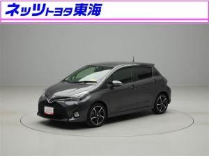 トヨタ ヴィッツ RS ドライブレコーダー HDDナビ フルセグTV 純正AW
