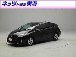 トヨタ プリウス S バックモニター HDDナビ フルセグ スマートキ- CD