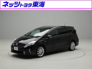 トヨタ プリウスアルファ Sツーリングセレクション メモリーナビ フルセグ Bモニタ-