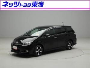 トヨタ ウィッシュ 1.8Sモノトーン メモリ-ナビ フルセグ バックモニタ-