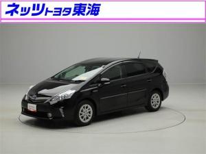 トヨタ プリウスアルファ G メモリ-ナビ ワンセグTV バックモニタ- ワンオーナー