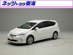 トヨタ プリウスアルファ Sツーリングセレクション HDDナビ フルセグ Bモニタ-