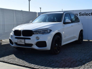 BMW X5 xDrive 35d 限定車 デモカー 黒革 パノラマSR
