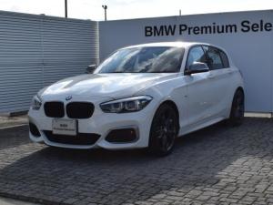 BMW 1シリーズ M140i エディションシャドー デモカー 黒革 18AW