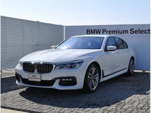 BMW 7シリーズ 740i Mスポーツ 黒革 SR ドラアシ ソフトクローズ