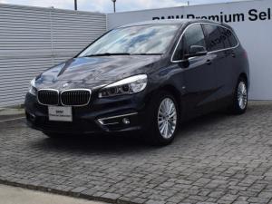 BMW 2シリーズ 218d GT Luxury 黒革 ACC 純正ナビ Bカメ