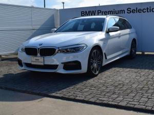 BMW 5シリーズ 523dツーリング デモカー ACC ドラアシプラス