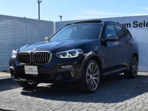 BMW X3 M40d ブラックレザー パノラマガラスサンルーフ アクティブクルーズコントロール ヘッドアップディスプレイ ハーマンカードン フルセグTVチューナー 全周囲カメラ 電動リアゲート FRシートヒータ- 21AW