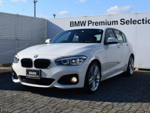 BMW 1シリーズ 118i Mスポーツ 純正ナビ 純正バックカメラ&センサー アクティブクルーズコントロール 衝突軽減ブレーキ 車線逸脱警告 SOSコールシステム LEDライト 18AW
