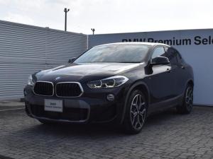 BMW X2 sDrive 18i MスポーツX コンフォートパッケージ・純正ナビ・純正リアビューモニター・衝突軽減ブレーキ・SOSコールシステム・電動リアゲート・フロントシートヒーター・ETC2.0・ガラスフィルム施工・19AW