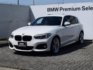 BMW 1シリーズ 118d Mスポーツ 純正HDDナビ アルミペダル バックカメラ クルーズコントロール 衝突軽減ブレーキ SOSコール Bluetooth/USB ETC2.0 LEDヘッドライト CDスロット 18AW