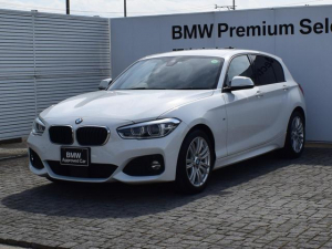 BMW 1シリーズ 118d Mスポーツ 純正HDDナビ アクティブクルーズコントロール バックカメラ コンフォートアクセス SOSコール ETC2.0 Bluetooth/USB LEDライト 17AW