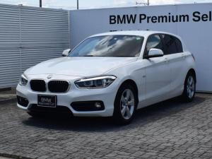 BMW 1シリーズ 118d スポーツ 純正ナビ バックカメラ クルーズコントロール コンフォートアクセス 衝突軽減ブレーキ SOSコール Bluetooth/USB/AUX ETC2.0 LEDヘッドライト オートライト&ワイパ 16AW