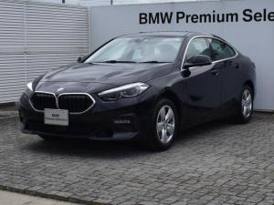 BMW 2シリーズ 218iグランクーペ プレイ デモカー プレイ 純正ナビ アクティブクルーズコントロール バックカメラ コンフォートアクセス SOSコール 運転席電動シート Bluetooth/USB ETC2.0 LEDヘッドライト 16AW