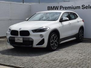 BMW X2 xDrive 18d MスポーツX デモカー MスポーツX ヘッドアップディスプレイ ドラアシプラス 純正ナビ Bカメラ 前後PDC Fシートヒーター 電動Rゲート ミュージックサーバ Bluetooth/USB ETC2.0 19AW