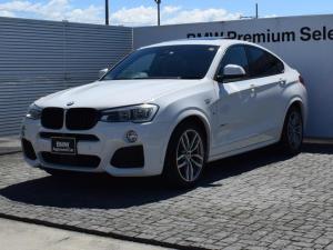BMW X4 xDrive 28i Mスポーツ 黒革 SR 社外ローダウンサス純正無 純正ナビ 全周囲カメラ 前後PDC 衝突軽減B フルセグ Fシートヒータ 電動シート CDスロット Bluetooth/AUX/USB ETC2.0 19AW