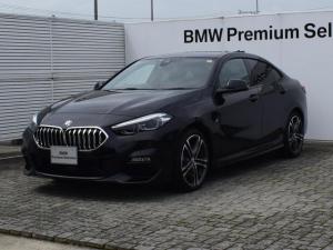 BMW 2シリーズ 218iグランクーペ Mスポーツ アクティブ・クルーズ・コントロール 7速DCT 純正ナビ バックカメラ 前後PDC 並走車両警告 BMWライブコクピット・プロ コンフォートアクセス Bluetooth/USB ETC2.0 18AW