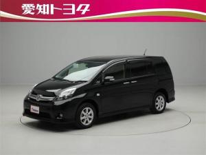 トヨタ アイシス プラタナ Vセレクション HDDナビ フルセグ 4WD CD