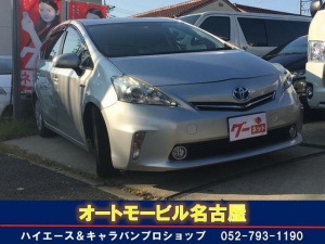 トヨタ プリウスアルファ S SDナビ ETC スマートキー DVD再生