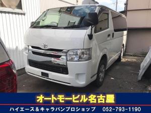 トヨタ ハイエースバン DX キーレス パワーゲート ナビ TV ETC 4WD