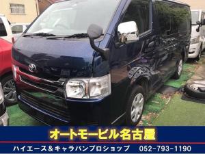 トヨタ ハイエースバン ロングDX 5D Wエアコン ナビ バックカメラ ETC