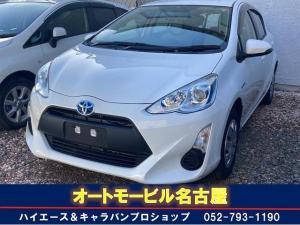 トヨタ アクア  ナビ ETC キーレス オートエアコン バックカメラ アイドリングストップ 横滑り防止機能 CD