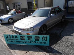日産 スカイライン GT ローダウン 32GTR純正アルミ新品タイヤ付