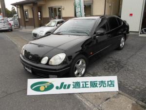トヨタ アリスト S300ベルテックスエディション 純正ナビ クルコン 禁煙車