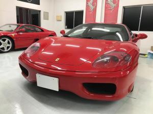 フェラーリ 360 モデナF1 ディーラー車 左ハンドル