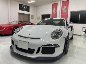 ポルシェ 911 911GT3 RS ディーラー車 左ハンドル 純正ナビ・TV スポーツクロノスポーツエキゾースト レザーインテリア
