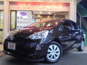 トヨタ アクア S SDナビ TV CD スマートキー プッシュスタート