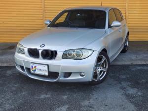 BMW 1シリーズ 130i Mスポーツ 6AT・純正HDDナビ・CD・レザーシート・前席パワーシート・純正17インチAW・フルオートエアコン・UVカットガラス・4エアバック・DSC